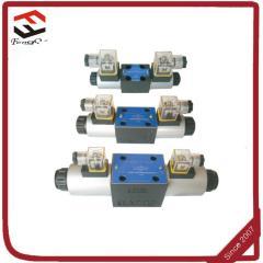 100 flow rate 4WE10 solenoid valves