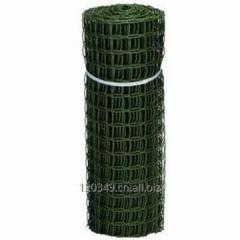 Plastic vegetable garden fence netting