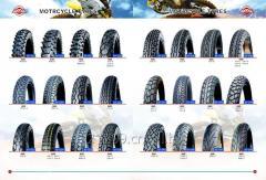 各种型号摩托车轮胎