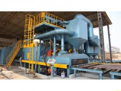 Steel Pipe Outer Wall Special Shot Blasting Machine