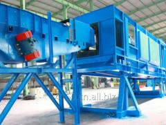 Piled and Released Type Shot Blasting Machine