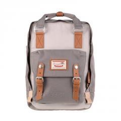 HK Doughnut Macaroon Backpack Classic Water Repellent School Pack