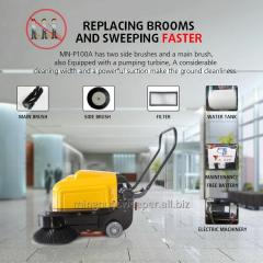Smart Hand-push Sweeper Collector--P100A