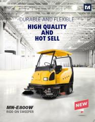 Heavy load sanitation sweeper--E800W