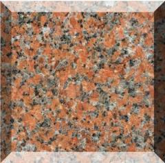Natural stone China Maple Red Granite G562