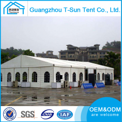 300 People PVC Coated Outdoor Wedding Tents Party