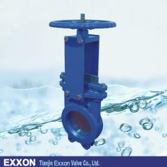 Lug type knife gate valve with CE ISO API