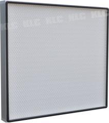 Aluminum frame glassfiber HEPA filter