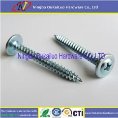 Galvanized Phillips Modfied Truss Head K-Lath Self Tapping Screws