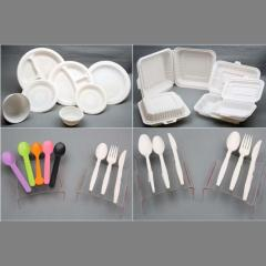 High Capacity Disposable Biodegradable Corn Starch Tableware