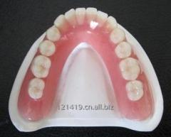 Dental plastic holder