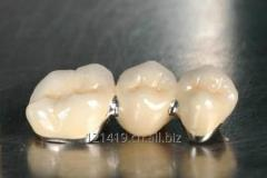 Dental ceramic teeth