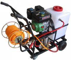 Portable 60 L metal pump pressure garden sprayers