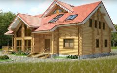 Prefab timber villa