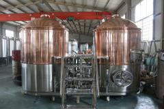Craft beer brewing equipment with capacity 100L-2000L/batch
