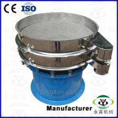 Electric vibrating sieve for sugar