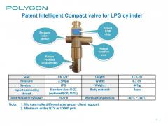 Patent Intelligent Quick on Valve for LPG Cylinder
