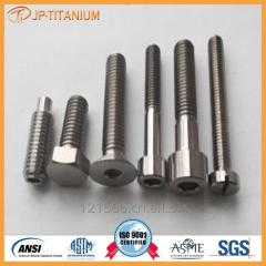 Titanium screw for industry, Gr2 Gr5