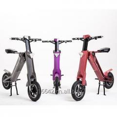 全国首发时尚休闲智能自动折叠电动车,代步车