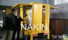 Mobile type vacuum insulating oil purifier ZYM