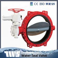 Series soft sleeve seated butterfly valve UD