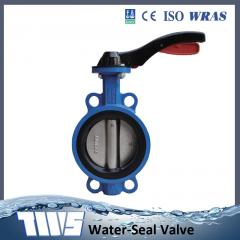 Series Wafer butterfly valve YD