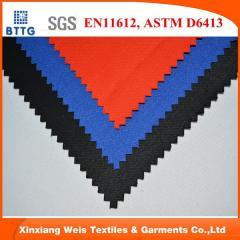 EN11612 flame retardant modacrylic cotton FR