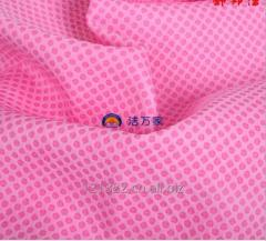 Waffle Pattern Embossed PVA Chamois Towel for Filtering with Mesh