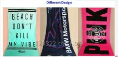 Logo Pattern Printed Multi use Chamois Towel Wet Cleaning Pads Banner