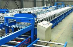 Metal Deck Roll Forming Machines