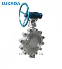 API DIN Flanged Lug Wafer Butterfly Valve