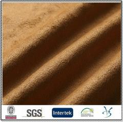 Polyester warp knitting ultra micro suede fabric