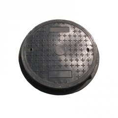 700*30mm Polymer Round Manhole Cover with Frame