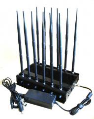 Jammer GSM DCS Rebolabile 3G 4G WIFI GPS and RF Bugs from