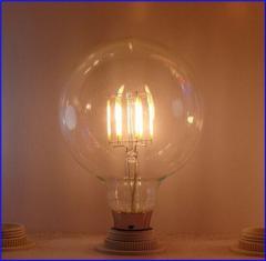 爱迪生led灯,复古风格的灯泡,爱迪生全球灯泡G80 8W