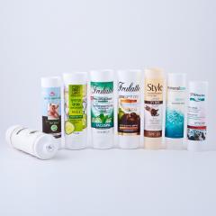 Cosmetic plastic tubes