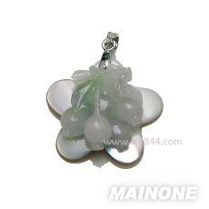 淡水珍珠饰品花