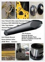 Excavator hydraulic breaker parts for soosan