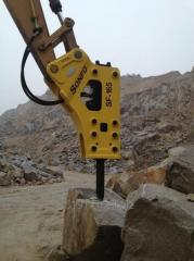 Hydraulic breaker/hydraulic hammer for excavators