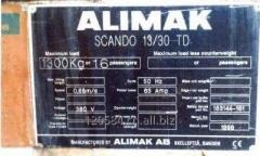 Used Passenger Hoist Alimak Scando I 13/30TD with