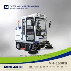 All enclosed sweeper