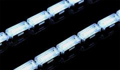 High brightness led crystal strips Indicators Turn Signals with flowing Amber