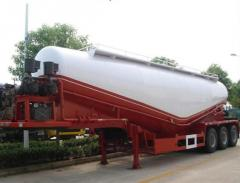 3 Axles V Shape Cement Bulker Cargo Trailer