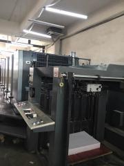 海德堡102-5 五色胶印机