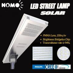 Led solar street light with outdoor cctv camera