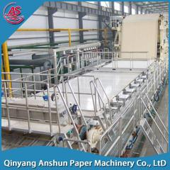 Kraft corrugated fluting paper making machine