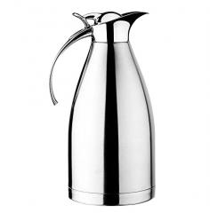 ZC-DA-C Stainless Steel Thermal Coffee Carafe, Double Walled Vacuum Insulated Carafe with Press Button Top