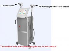 EOS-ICE Plus+Partner Diode laser hair removal