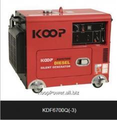 Koop Diesel Generator KDF6700Q 4.5KVA