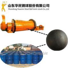 锻造钢球,耐磨钢球,水泥厂用耐磨钢球--华民